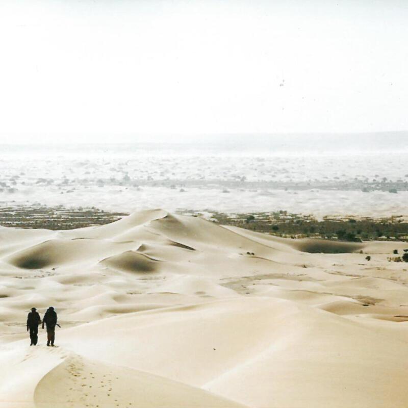 voyage desert de lybie tassili maghidet