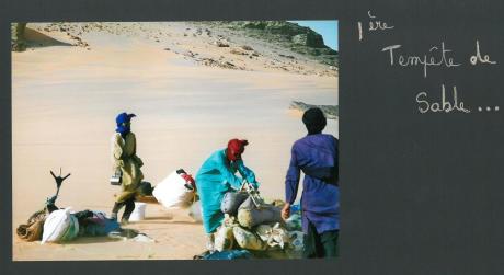 tempete de sable sahara desert lybie
