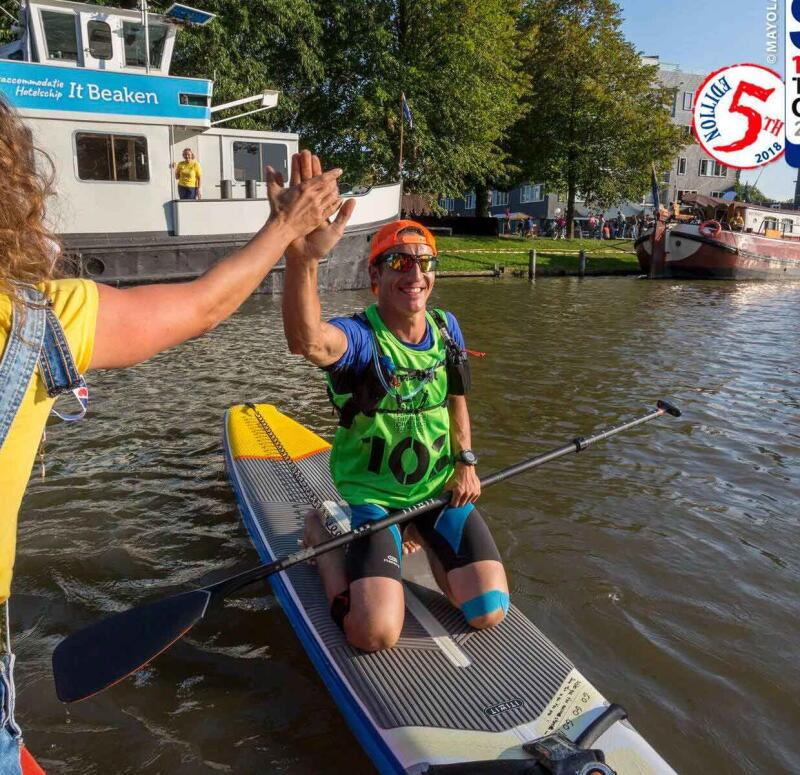 race stand up paddle hollande