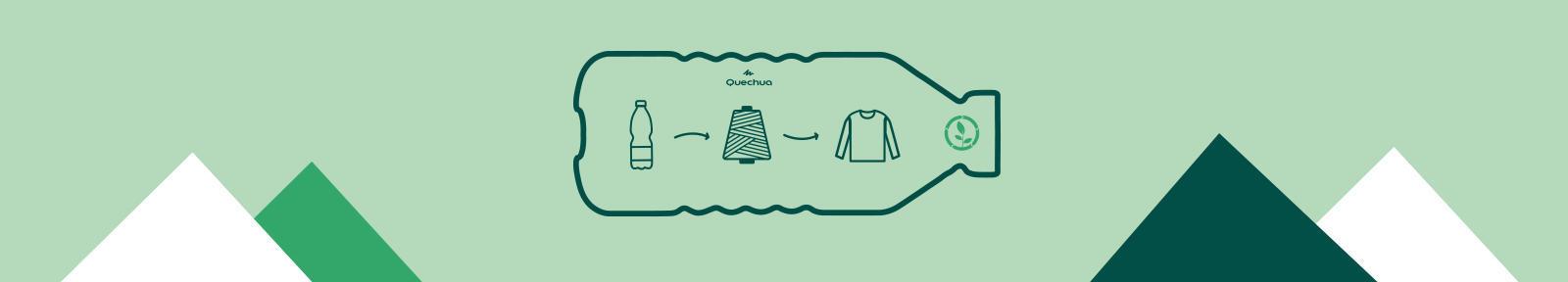 Fleeces recycled Quechua