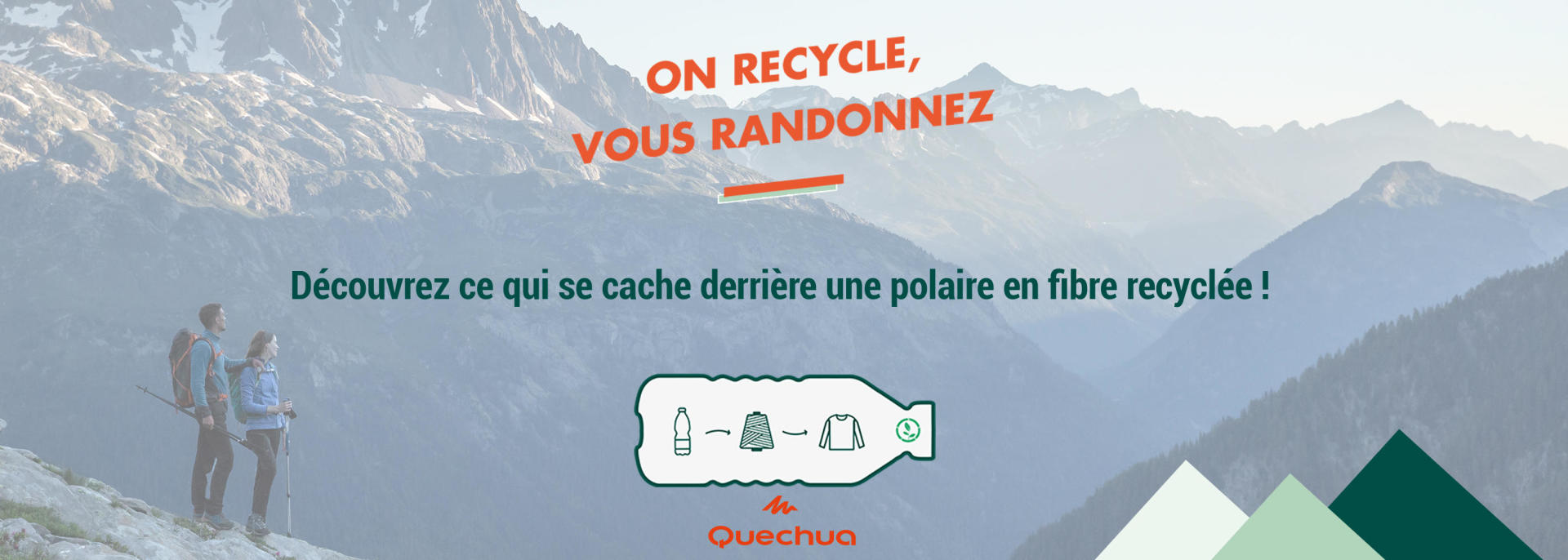 Polaires Recyclées Quechua