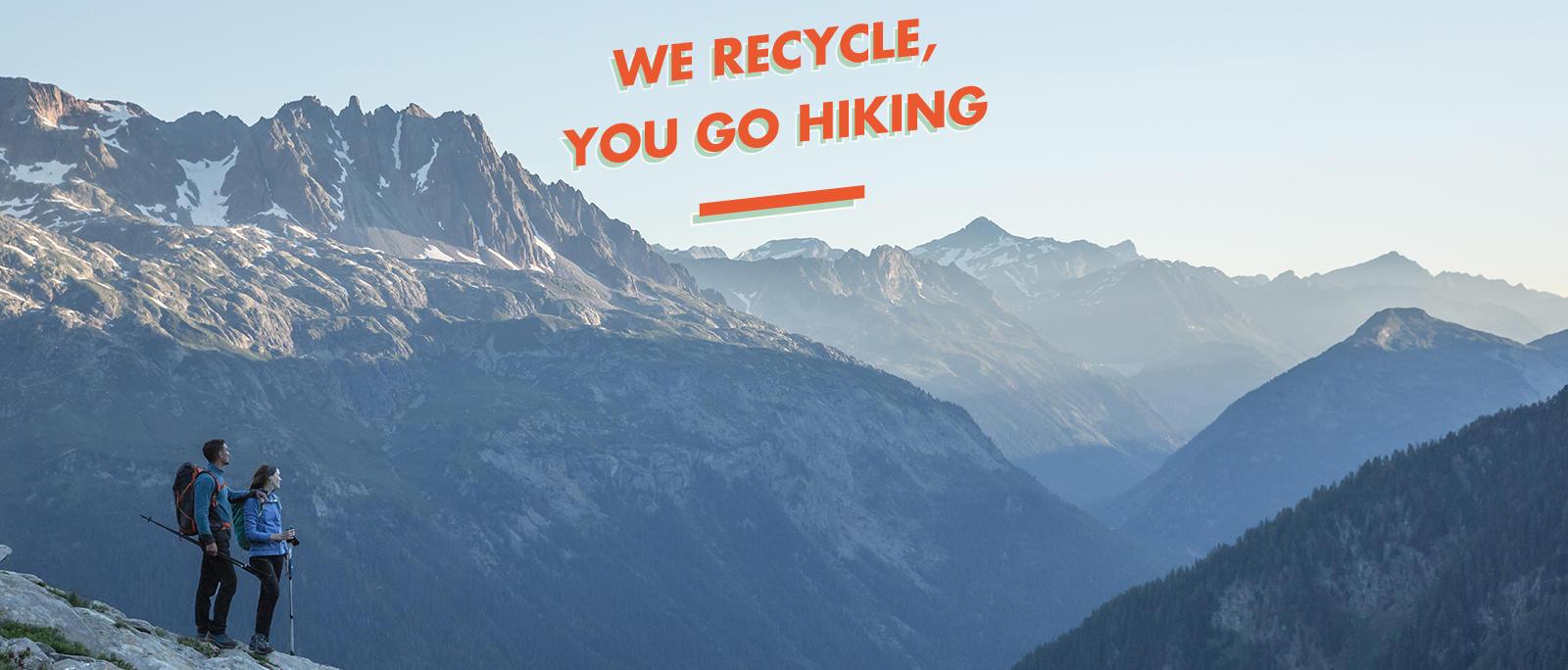 recycled fleeces for hiking mountain quechua decathlon