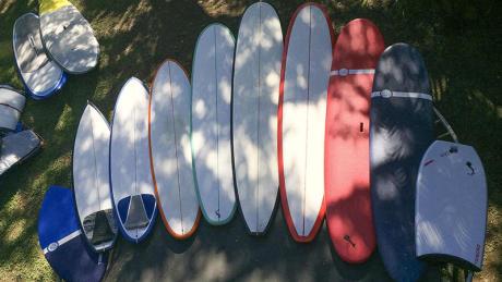 quiver planches de surf olaian