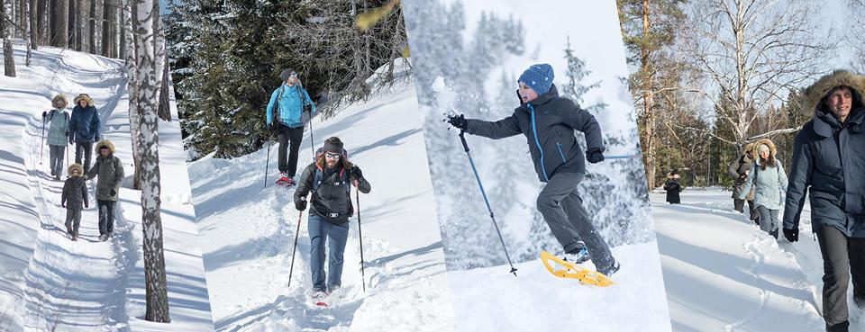 Choisir entre raquettes et grips pour la randonnée neige : conseils quechua