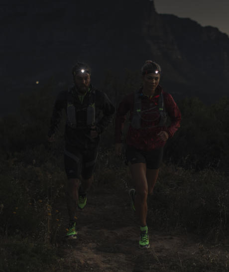 nachtelijke trail