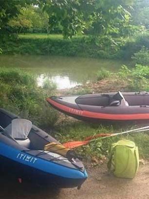 descente-de-l-aran-en-kayak-itiwit3-mise-a-l-eau