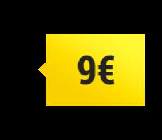 Prix 9 euros