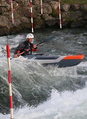kayak gonflable cross pau