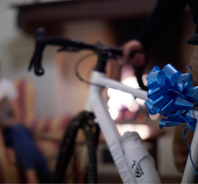 cadeau pour cycliste sur route