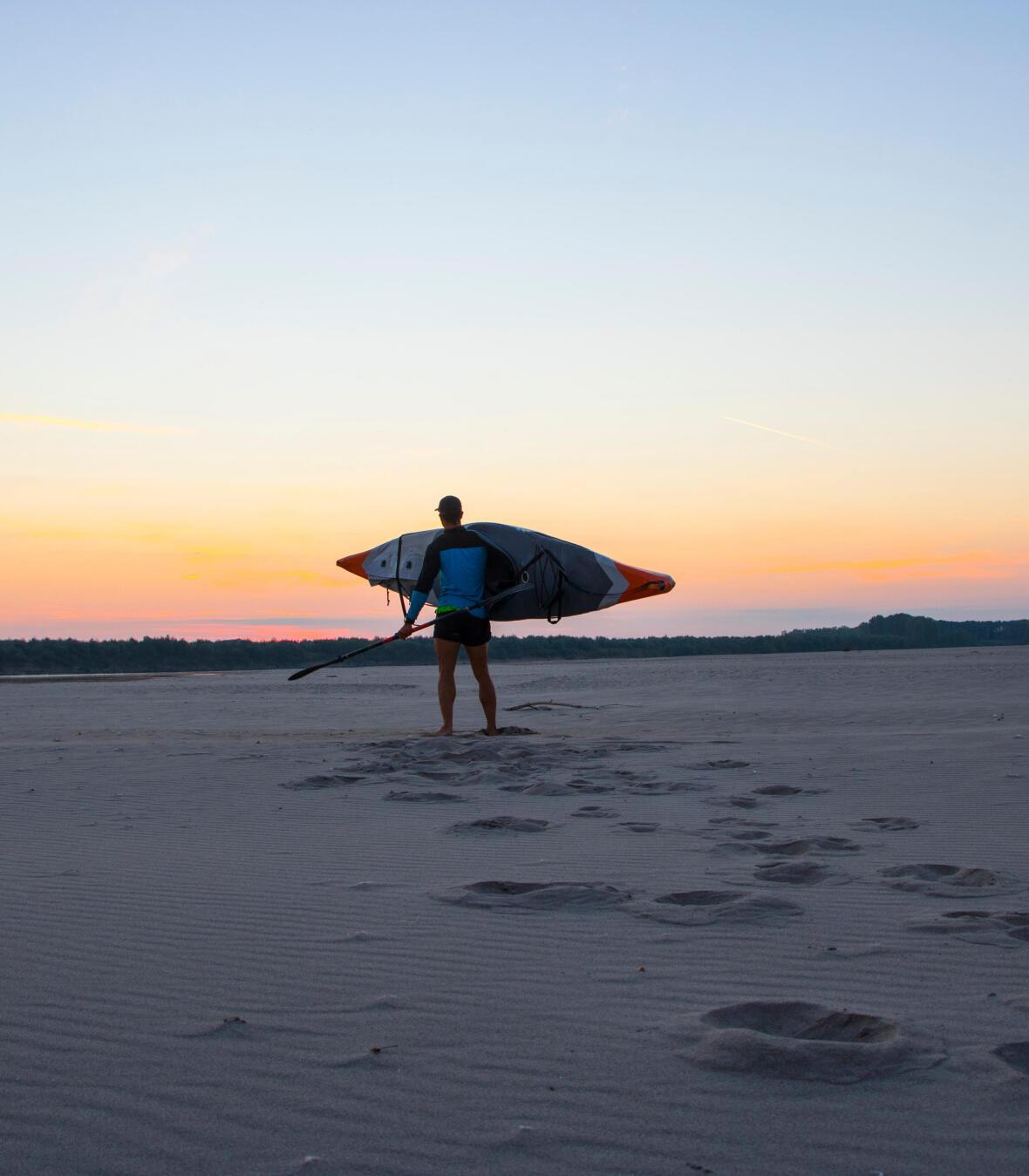 kayak gonflable trip preparation