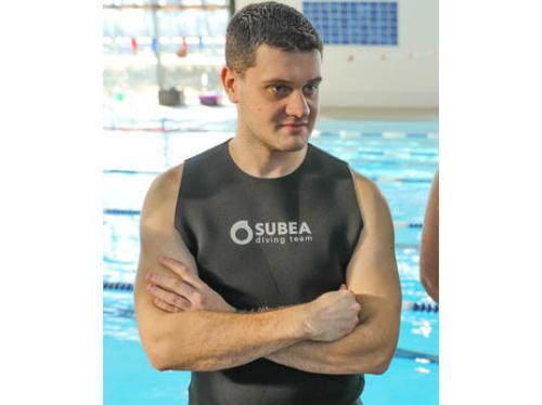 Victor, vendeur plongée au Decathlon de Dunkerque