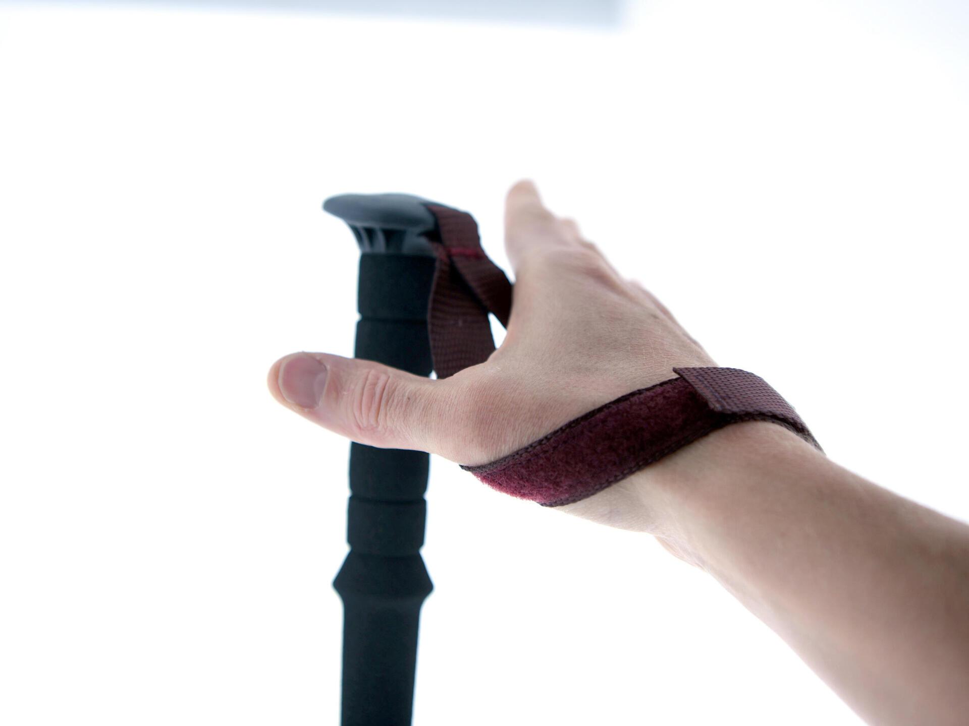 Hand strap velcro