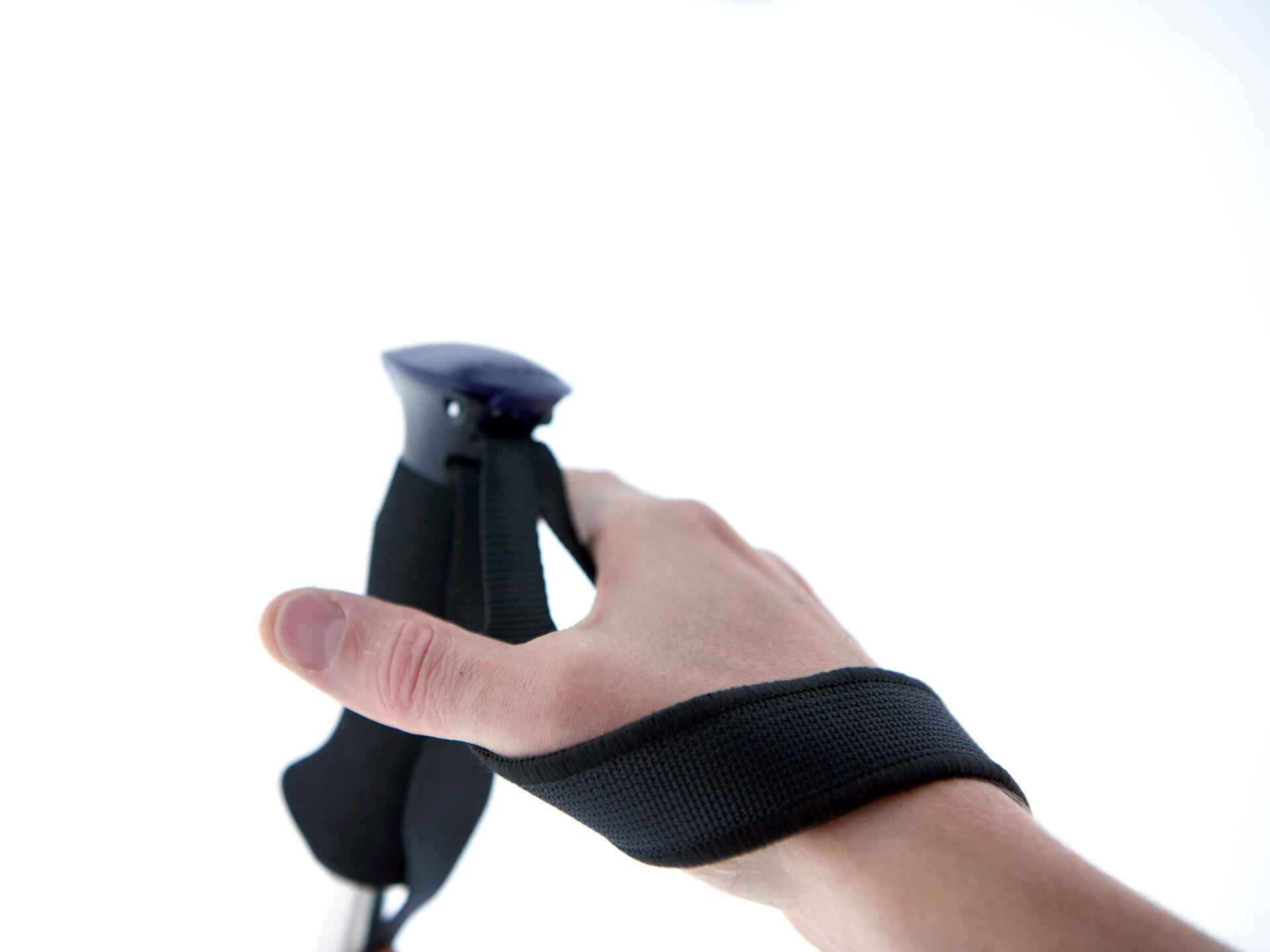 Soft fabric hand strap