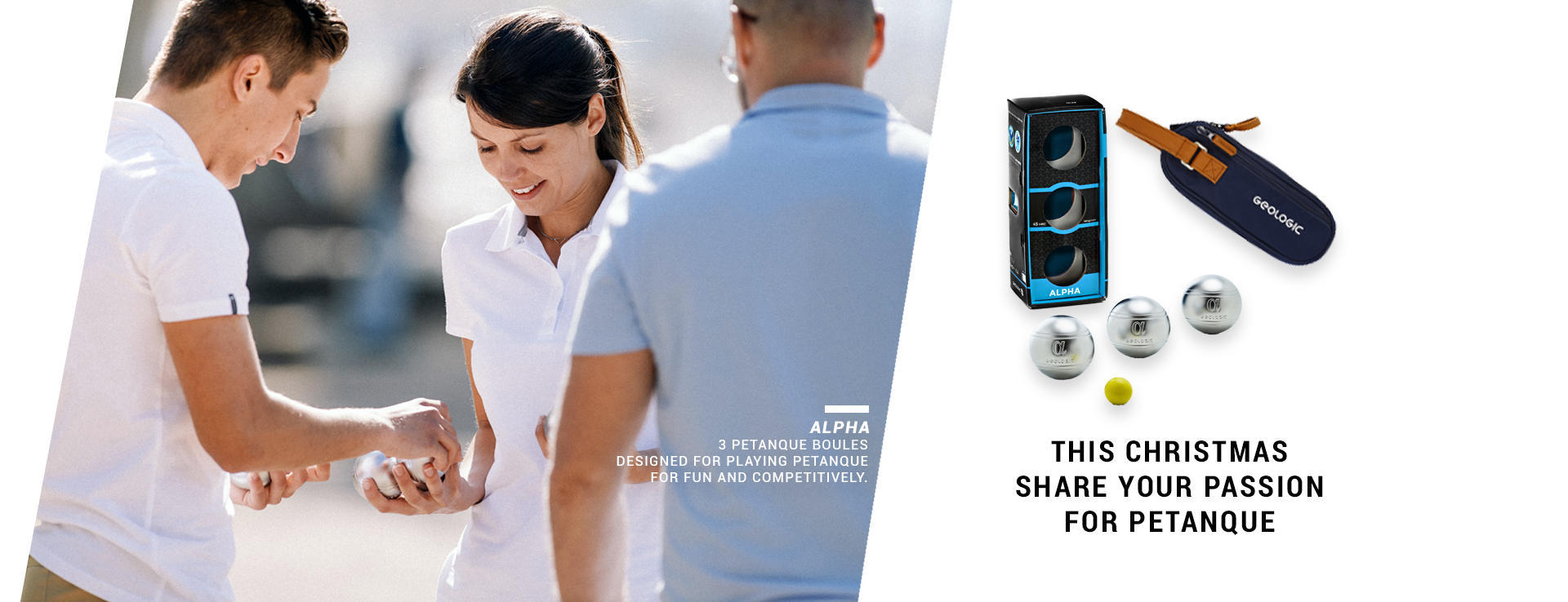 This Christmas share your passion for petanque