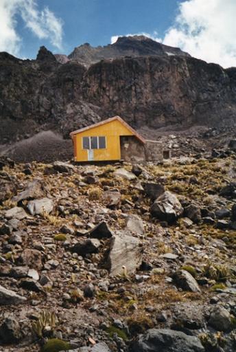 Refuge illiniza norte 5000 trek rando