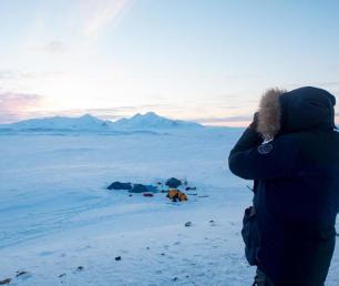 trek polaire arctique dans le grand nord