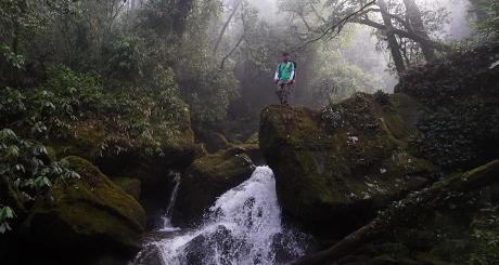 Trekking tropical