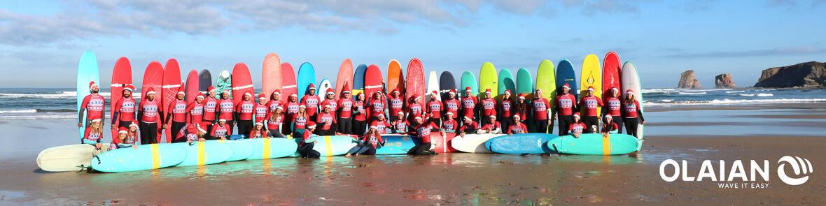 Olaian Xmas Surf IDÉES CADEAUX planches de surf