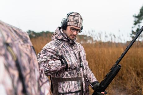 La veste Kamoreeds pour les chasseurs de gibier d'eau
