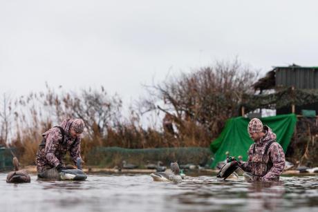 Des waders pour chasseurs de gibier d'eau