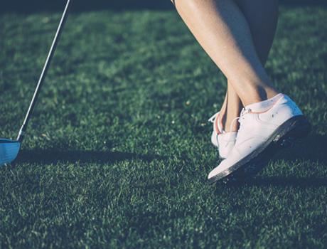 chaussures golf inesis decathlon