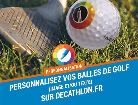 Personnalisation balles golf decathlon inesis