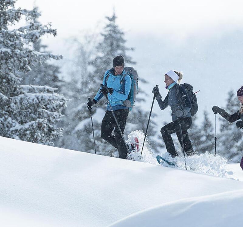 6 astuces pour bien utiliser ses raquettes à neige - titre