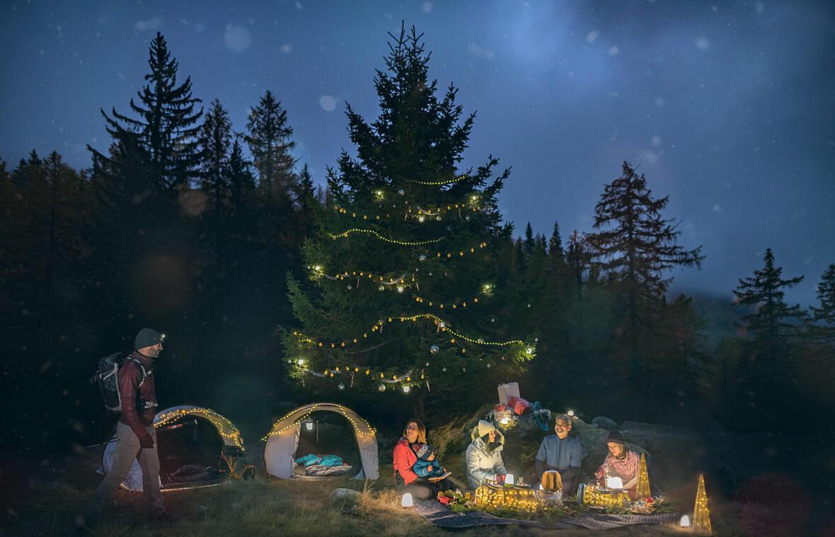佈置聖誕燈飾