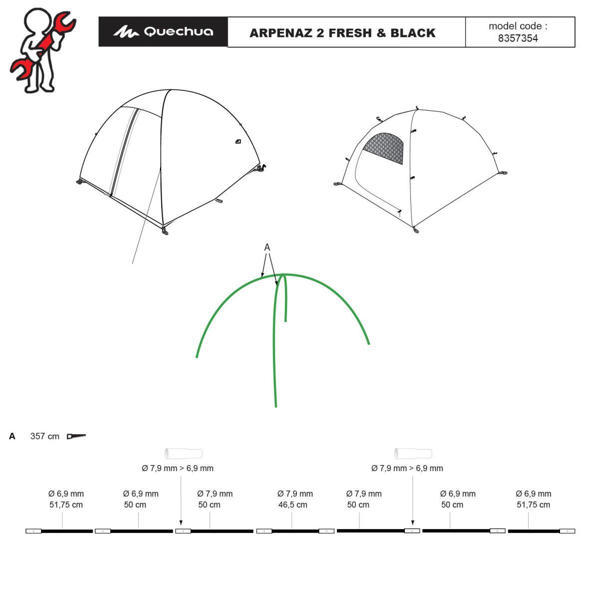 repair-tent-arpenaz-2-person-fresh-and-black-quechua-broken