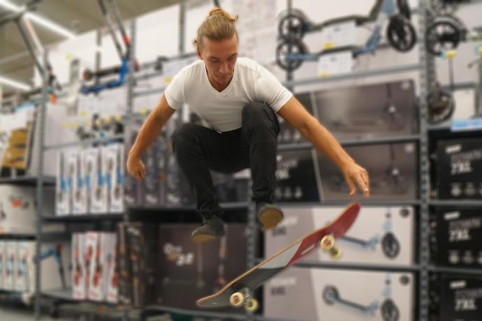 skateboard expert