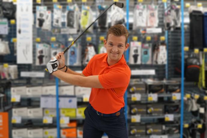 Golf afstandmeter kiezen