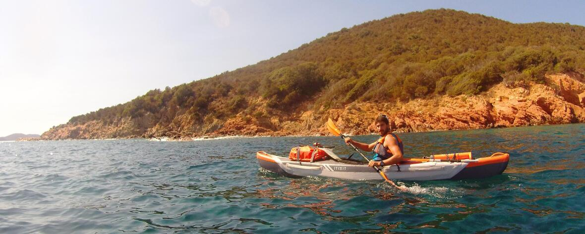 kayak gonflable corse