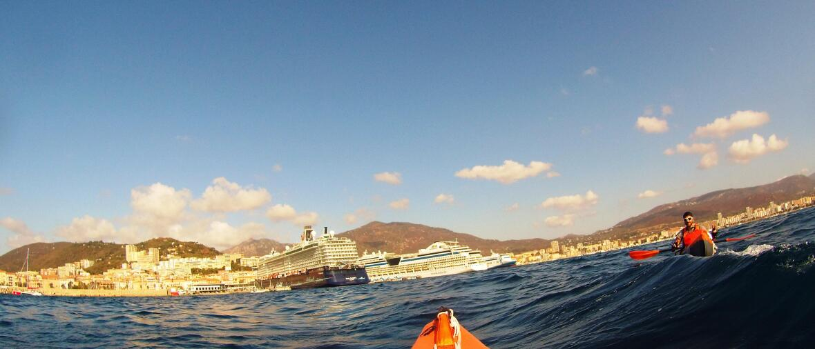 demarrage kayak tour corse