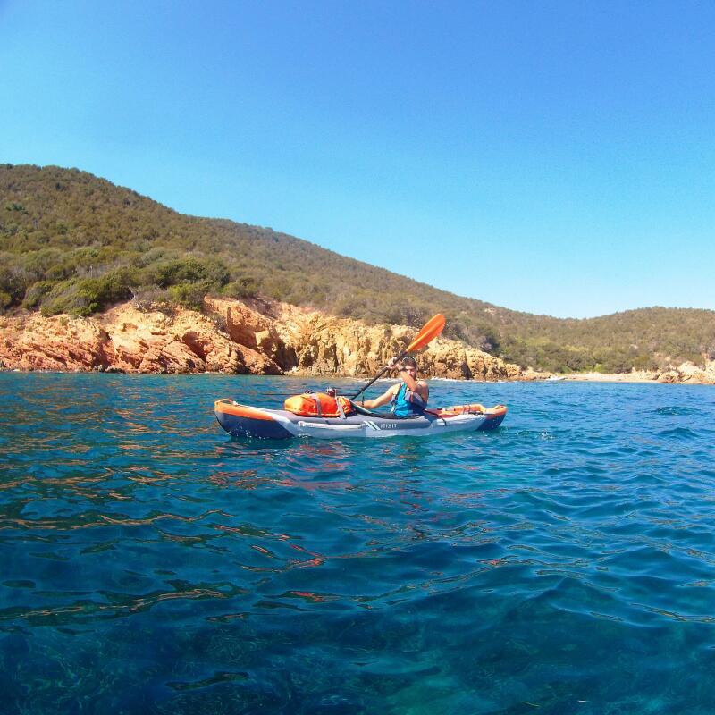 kayak de mer corse