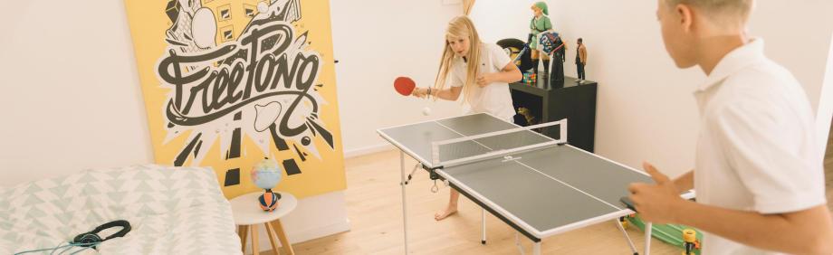 Free-Tischtennis klassisches Pingpong Spiel