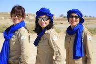 cagouilles du desert trek rose trip