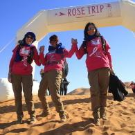 temoignage trek rose trip cagouilles