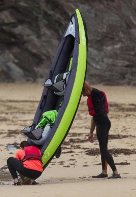 vider-un-kayak-gonflable-itiwit