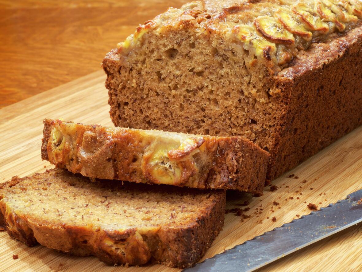 BANANA BREAD  sans gluten et sans lactose