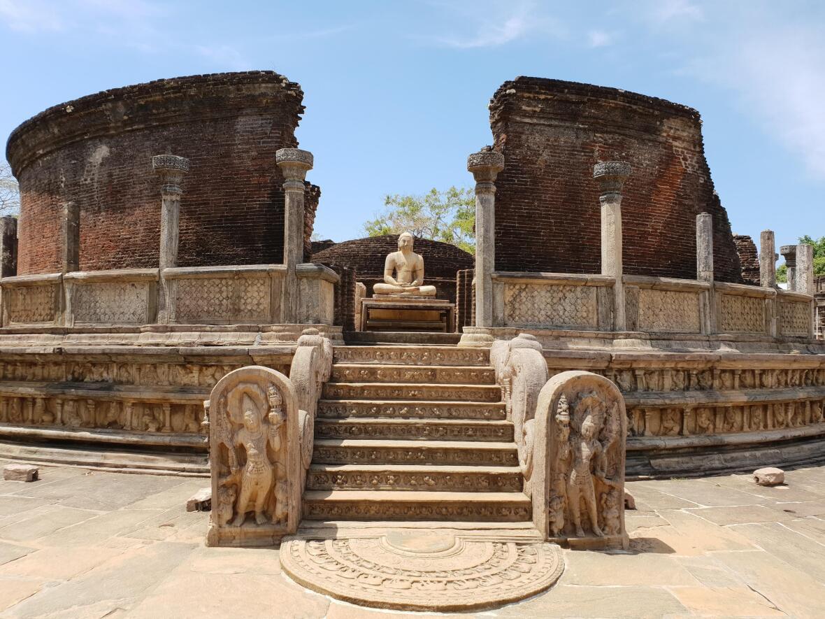 cité antique Polonnâruvâ Sri Lanka