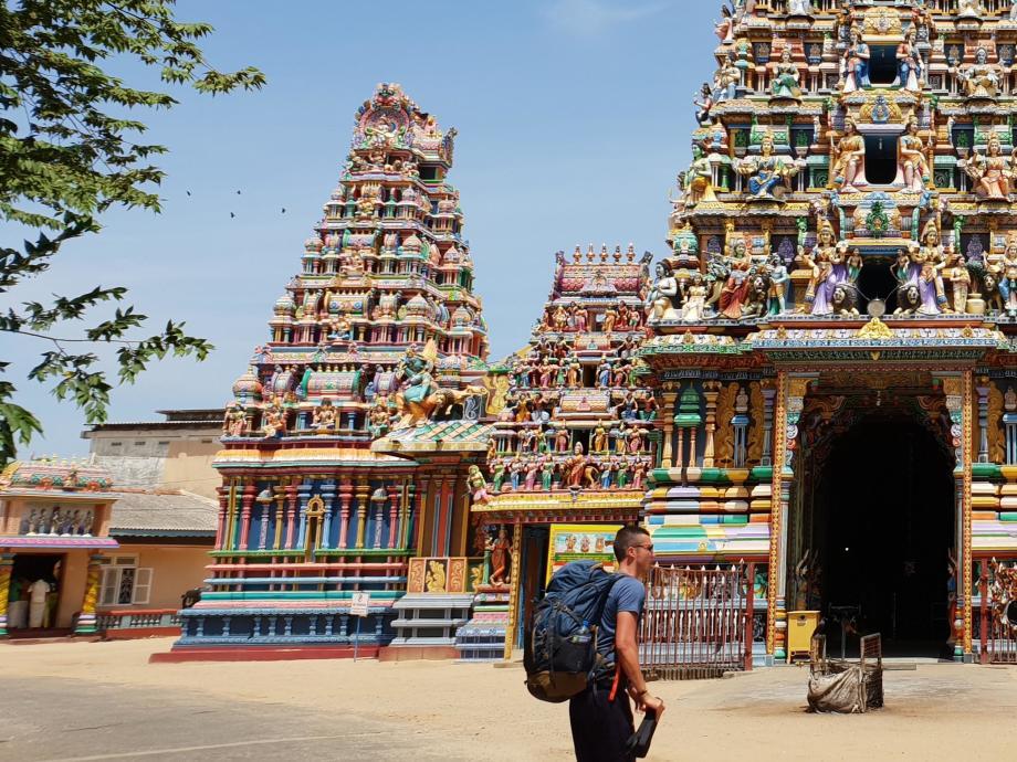 temple Trinquemalay Trincomalee Sri Lanka