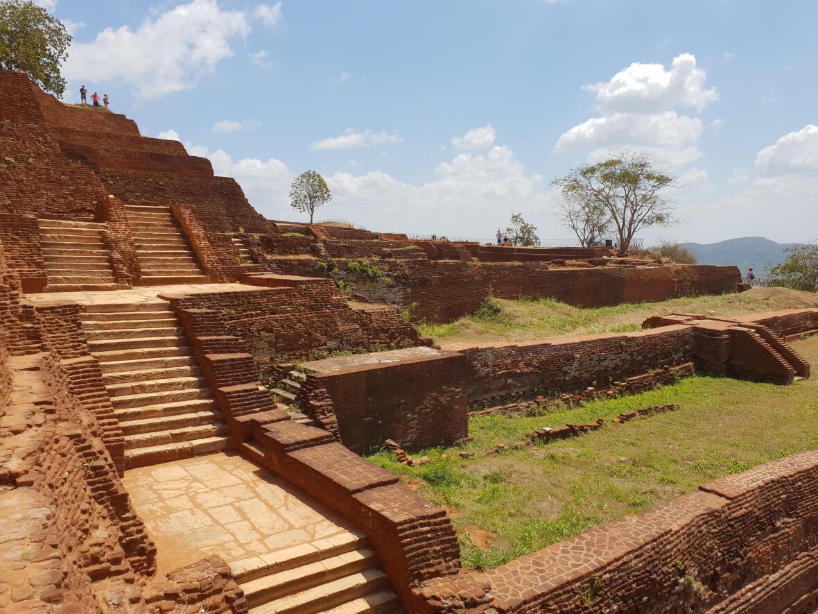 Temple rocher du lion de Sigiriya Sri Lanka