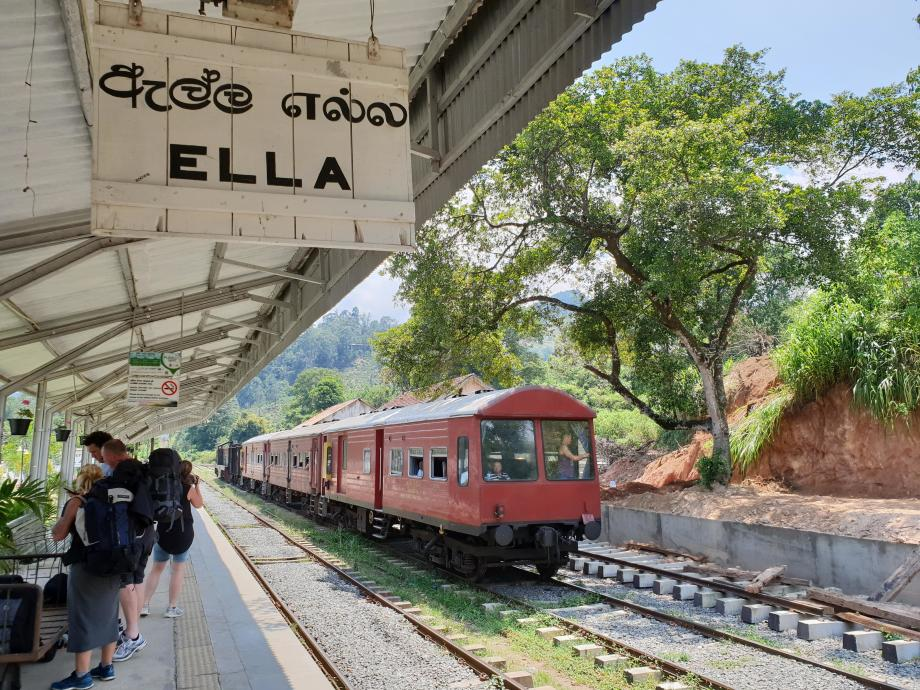 gare de train sri lanka ella