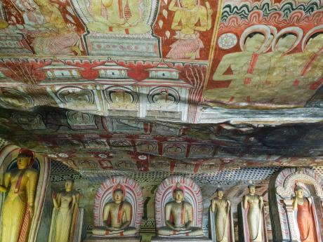 caves troglodytes de Dambulla Sri Lanka