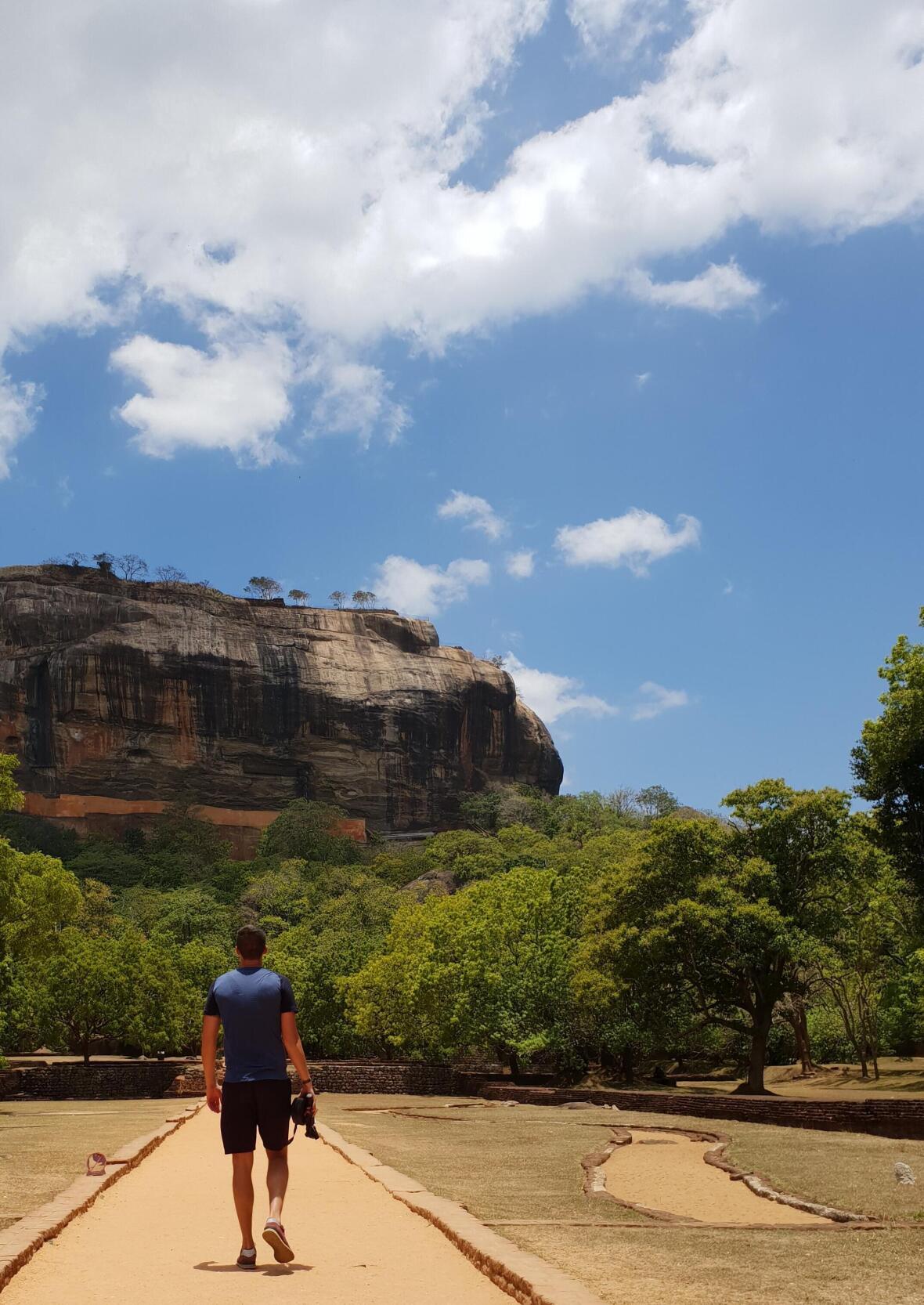 rocher du lion de Sigiriya Sri Lanka