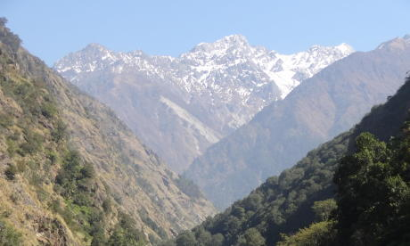 Torrent Népal Langtang