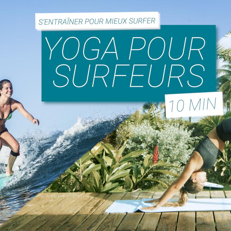 séance de yoga spécifique au surf