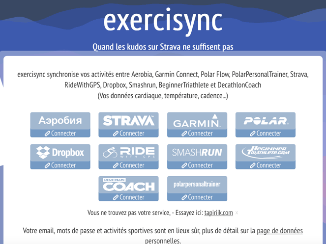 homepage exercisync
