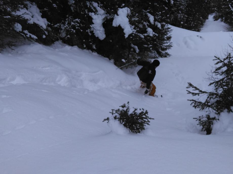 les randos equipe quechua rando neige