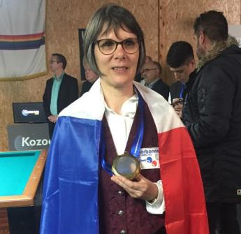 Magali Championne Europe Libre